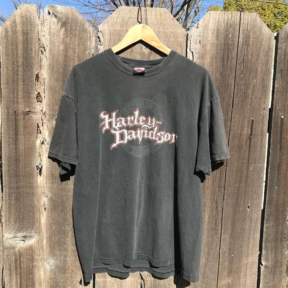 Harley Davidson Seattle >> Faded Harley Davidson Seattle Wa T Shirt